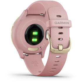 Garmin Vivomove 3S Smartwatch, pink/gold
